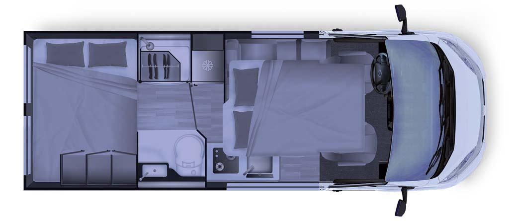 Dreamer Camper Van XL 2021